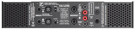 Yorkville PX1700 2x 600 W @ 4 Ohm Power Amplifier - 2RU PX1700
