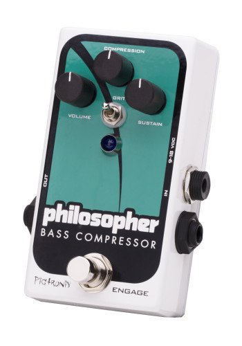 Pigtronix Philosopher Bass Compressor Specialty Bass Compressor with Blend PHILOSPHER-BASS-COMP