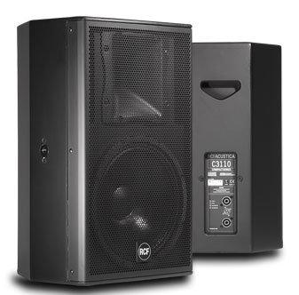 "RCF C3110-126  C Series 2-Way Passive Speaker with 10"" LF, 1"" HF, 120° x 60° Horn C3110-126"