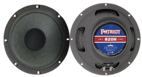 """Eminence Speaker 820H 8"""" Guitar Speaker 820H"""