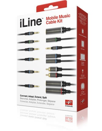 IK Multimedia iLine Kit Mobile Music Cable Kit  ILINE-KIT