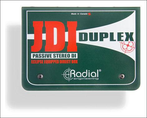 Radial Engineering JDI Duplex Stereo Passive DI Box JDI-DUPLEX