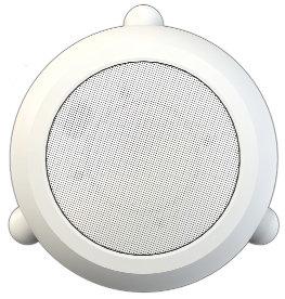 Bogen Communications MPS1W  70V Hanging Pendant Speaker, White MPS1W
