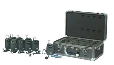 Listen Technologies LS06-072 7-Person Tour Group FM System, 72 MHz LS06-072