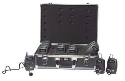Listen Technologies LS07-072 15-Person Tour Group FM System, 72 MHz LS07-072