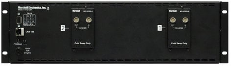 "Marshall Electronics V-MD72-3GSDI  Dual 7"" 3RU High Resolution LCD Rack Mount Monitor with 3G-SDI Modules and Loop-Through V-MD72-3GSDI"