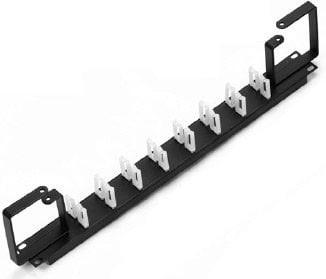 Lowell CMCD-1HV Cable Manager with Clips and D-rings CMCD-1HV