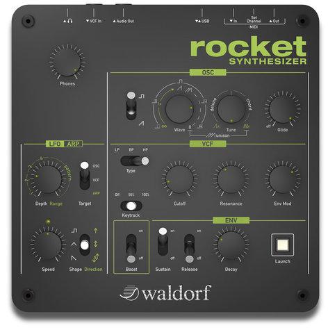 Waldorf Music Rocket Tabletop Synth Module ROCKET