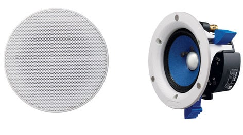 "Yamaha NS-IC400WH  Pair of In-Ceiling Speakers with 4"" Woofers NS-IC400WH"