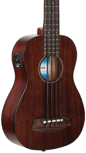 Kala Brand Music Co. UBASS-RMBL-FS Rumbler U-BASS Fretted Bass Ukulele UBASS-RMBL-FS