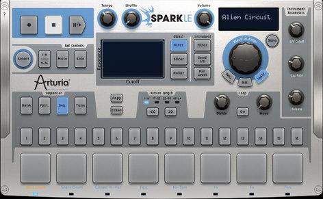 Arturia SPARK-LE MIDI Drum Controller, with Spark Engine Softsynth SPARK-LE