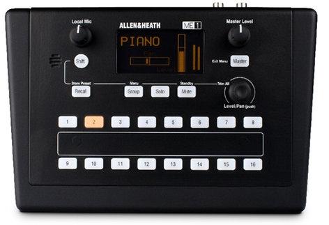 Allen & Heath ME-1-AH Compact Personal Mixer ME-1-AH