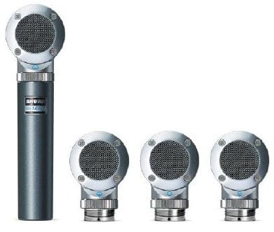 Shure BETA181/KIT  Side Address Instrument Microphone with 4 Capsule Kit BETA181/KIT