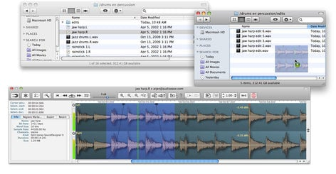 Audio Ease Snapper 2 Waveform Generator Software - Mac (Electronic Delivery) SNAPPER-2-DOWNLOAD
