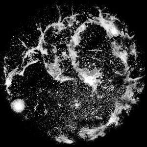 Apollo Design Technology SR-0083 Glass Gobo, Nebula SR-0083