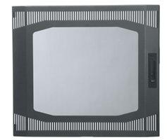 Middle Atlantic Products DT-VFD-10 10-Space Vented Front Door DT-VFD-10