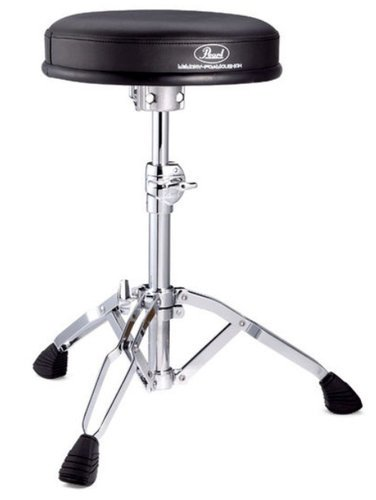 Pearl Drums D-930 Round Seat Drum Throne with Memory Foam Cushion D930