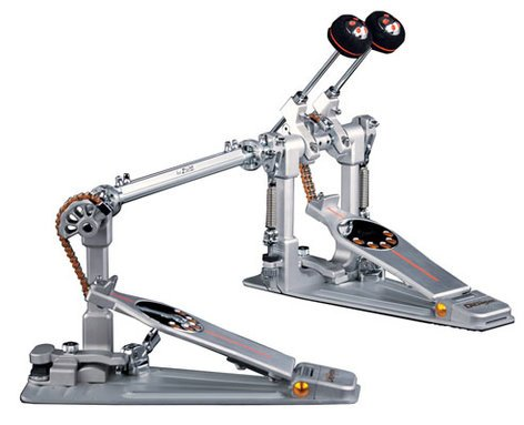 Pearl Drums P3002C  Demon Chain Drive Double Bass Drum Pedal with Custom Carry Bag P3002C
