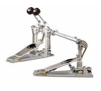 Pearl Drums P-3002CL Demon Chain Drive Left-Footed (Reverse) Double Kick Pedal with Custom Carry Case P3002CL