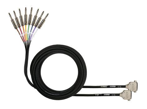 Shure DB25-TRSM  Cable, DB25 to 8ch TRS  DB25-TRSM