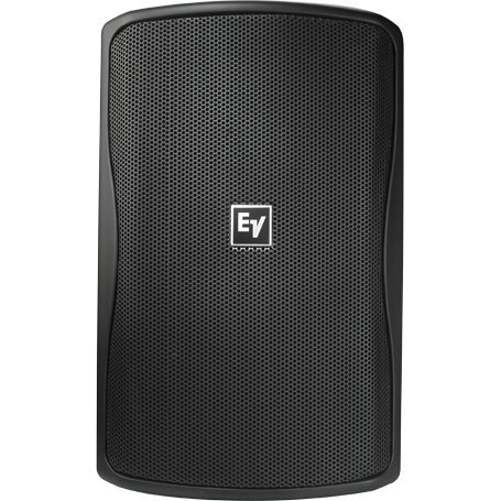 """Electro-Voice ZX1i 100T 8"""" Indoor/Outdoor Speaker in Black with 100° x 100° Coverage Pattern and Multi-Tap 70/100V Transformer ZX1I-100T"""