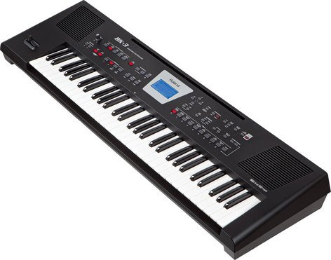 Roland BK-3 61-Key Backing Keyboard in Black BK-3-BK
