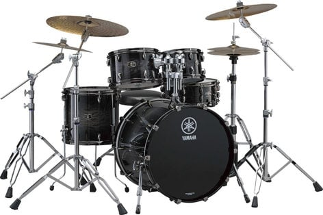 """Yamaha LC0F40 4 Piece Live Custom Shell Pack: 10"""", 12"""", 14"""", 20"""" without Snare Drum LC0F40"""
