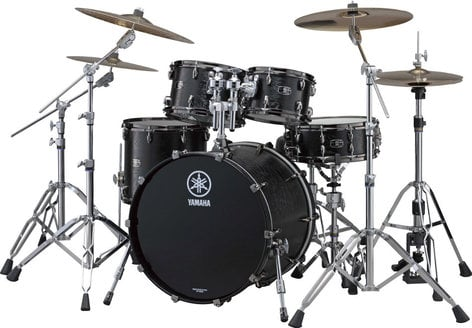 "Yamaha LC2F40 4 Piece Live Custom Shell Pack: 10"", 12"", 16"", 20"" without Snare Drum LC2F40"