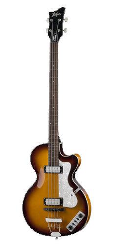 Hofner HI-CB-SB-O Ignition Club Bass Sunburst, Spruce Top, Rosewood Fretboard, with Case HI-CB-SB-O