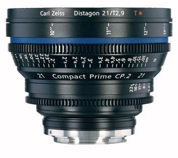 Zeiss CP.2 21mm f/2.9 EF FT CP.2 21mm f/2.9 Compact Prime Cine Lens, EF Mount, 1868-094 CP2-21-2.9-EF-FT