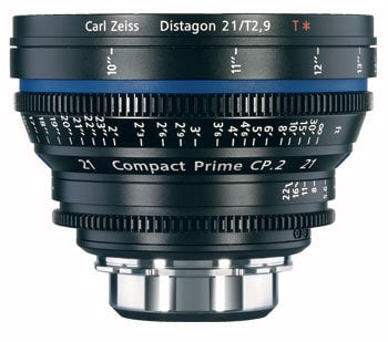 Zeiss CP.2 21mm f/2.9 PL FT CP.2 21mm f/2.9 Compact Prime Cine Lens, PL Mount, 1868-092 CP2-21-2.9-PL-FT