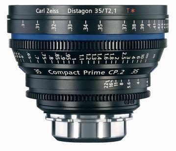 Zeiss CP.2 35mm f/2.1 PL FT CP.2 35mm f/2.1 Compact Prime Cine Lens, PL Mount, 1834-816 CP2-35-2.1-PL-FT