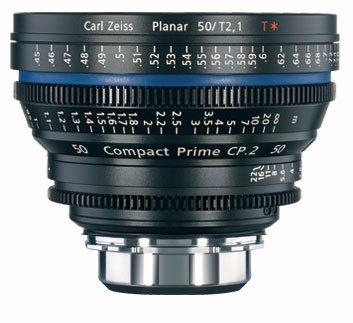 Zeiss CP.2 50mm f/2.1 PL FT CP.2 50mm f/2.1 Compact Prime Cine Lens, PL Mount, 1835-434 CP2-50-2.1-PL-FT