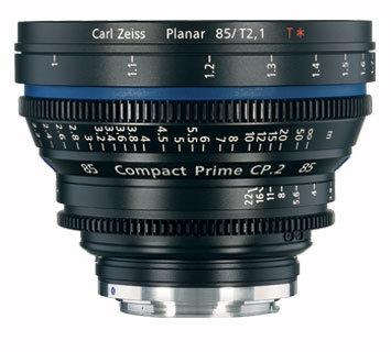 Zeiss CP.2 85mm f/2.1 EF FT CP.2 85mm f/2.1 Compact Prime Cine Lens, EF Mount,1794-636 CP2-85-2.1-EF-FT