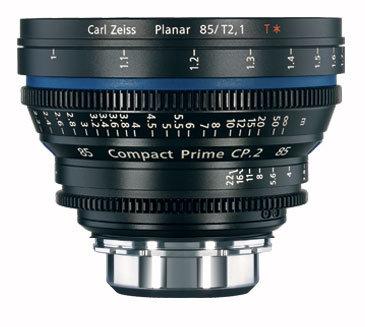 Zeiss CP.2 85mm f/2.1 PL FT CP.2 85mm f/2.1 Compact Prime Cine Lens, PL Mount, 1794-633 CP2-85-2.1-PL-FT