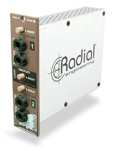 Radial Engineering Shuttle 500 Series Effects Insert/Routing Module SHUTTLE