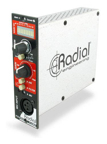 Radial Engineering PowerTube 500 Series Tube Mic Preamp with Jensen Transformer POWER-TUBE-500