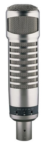 Electro-Voice RE27N/D Dynamic Cardioid Recording and Broadcast Microphone RE27N/D