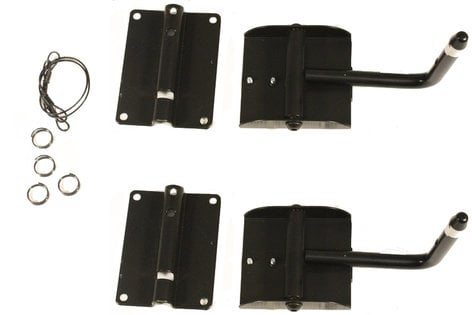 Allen Products/Adaptive Technologies 5-0100 MTC-1A JBL Control 1 Wall Mounts in Black - Priced Each, Sold in Pairs Only 5-0100