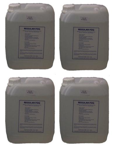 Look Solutions VI-3505X  (4) 5L Bottles of Regular Fog Fluid VI-3505X