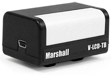 "Marshall Electronics V-LCD-TB  Camera-Top Tally Box for 6.5"" STX and 7"" XP / XHB Monitors V-LCD-TB"