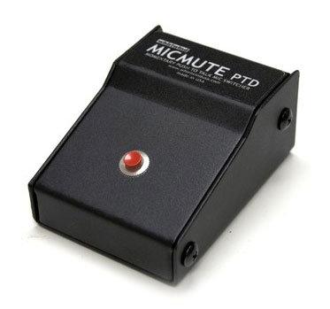 Whirlwind MicMute PTD Push-To-Talk Desktop Microphone Mute Switch MICMUTE-PTD