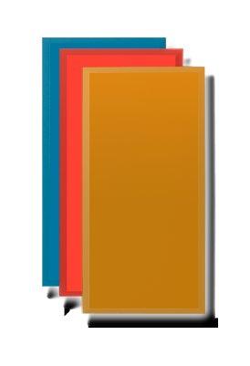 """Primacoustic PAINTABLES-24X48X2BV Paintables 24"""" x 48"""" x 2"""" Beveled Edge Acoustic Panel PAINTABLES-24X48X2BV"""