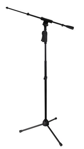 Gator GFW-MIC-2120 Frameworks Tripod Microphone Stand with Boom and One-Handed Clutch GFW-MIC-2120