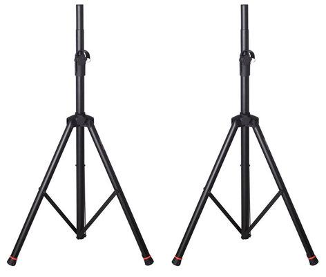 Gator Cases GFW-SPK-2000SET Frameworks GFW-SPK-2000 Speaker Stands, Pair GFW-SPK-2000SET