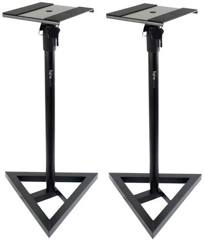 Gator Cases GFW-SPK-SM50 1 Pair of Frameworks Studio Monitor Stands GFW-SPK-SM50