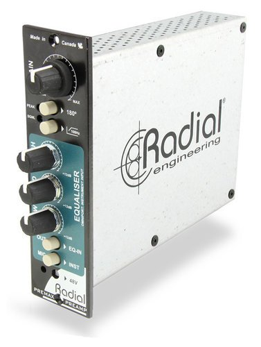 Radial Engineering PreMax 500 Series Channel Strip Module with Microphone Preamp & 3-Band Equalizer PRE-MAX
