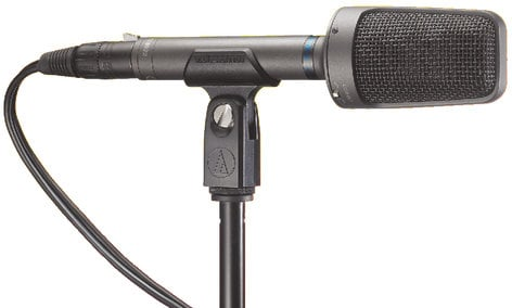 Audio-Technica AT8022 XY Stereo Condenser Microphone with Cables AT8022