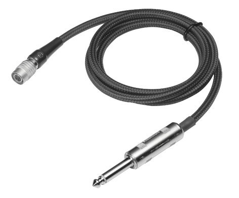 """Audio-Technica AT-GCW/PRO Pro Guitar Cable, 1/4"""" Plug AT-GCW/PRO"""