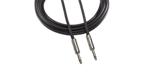 """Audio-Technica AT690 Speaker Cable, 1/4"""" Male TS - 1/4"""" Male TS, 50 Feet AT690-50"""
